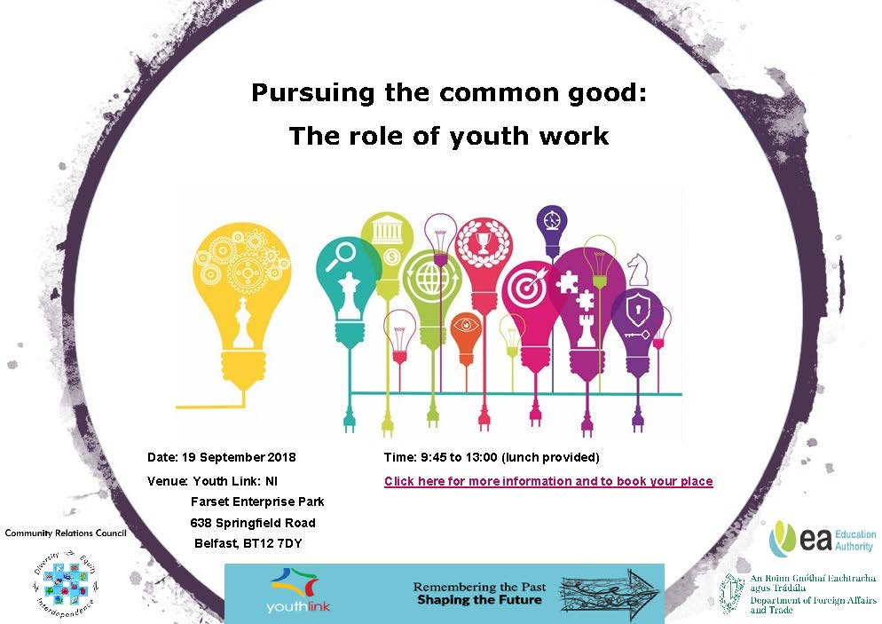 Invite_ Pursuing the common good_the role of youth work_19 Sept 2018