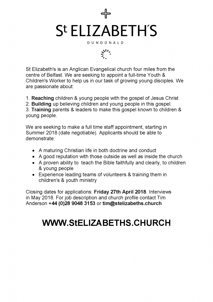 St E Youth Work Ad